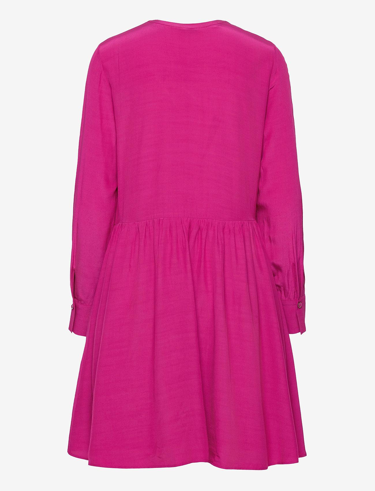 Tommy Hilfiger - VISCOSE CDC ABOVE KNEE DRESS LS - alledaagse jurken - fuchsia - 1