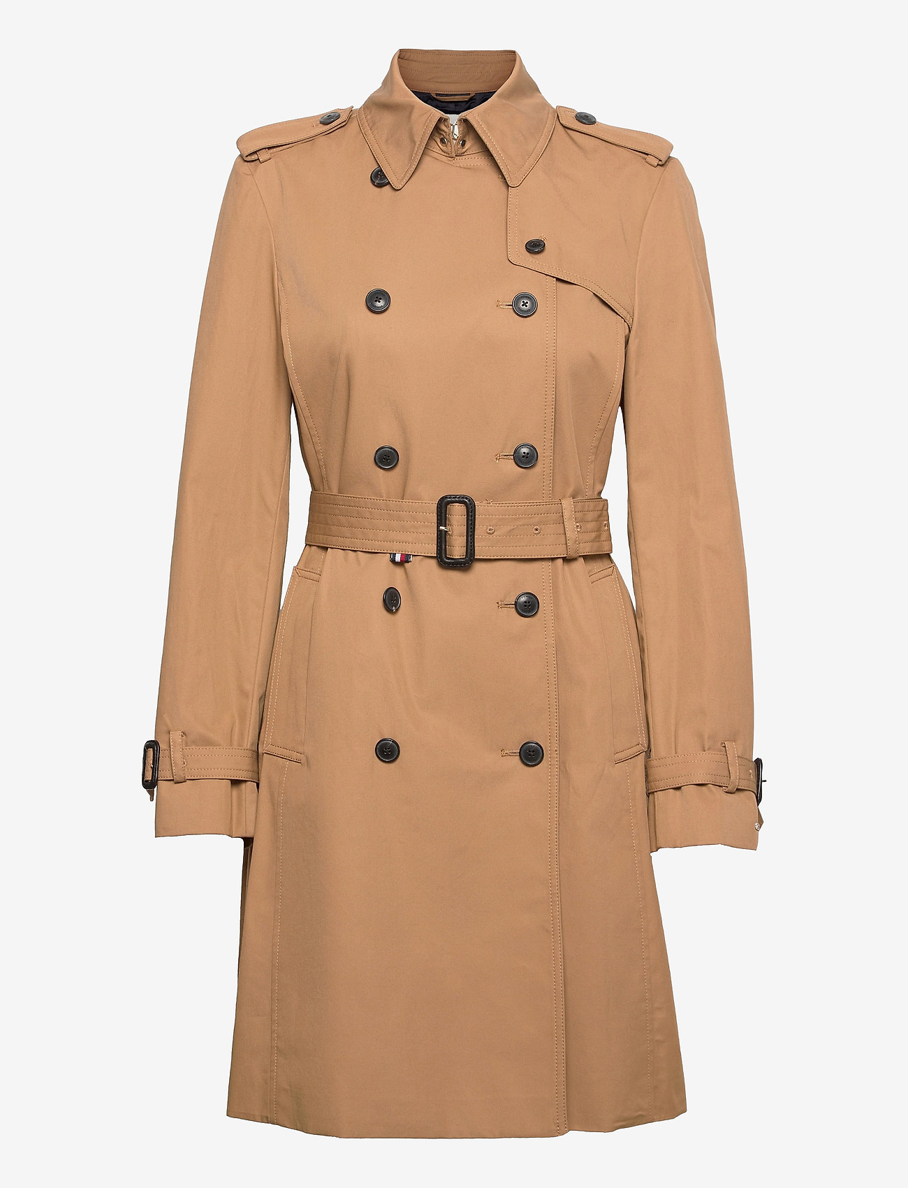Tommy Hilfiger - COTTON BLEND DB TRENCH - trench coats - countryside khaki - 0