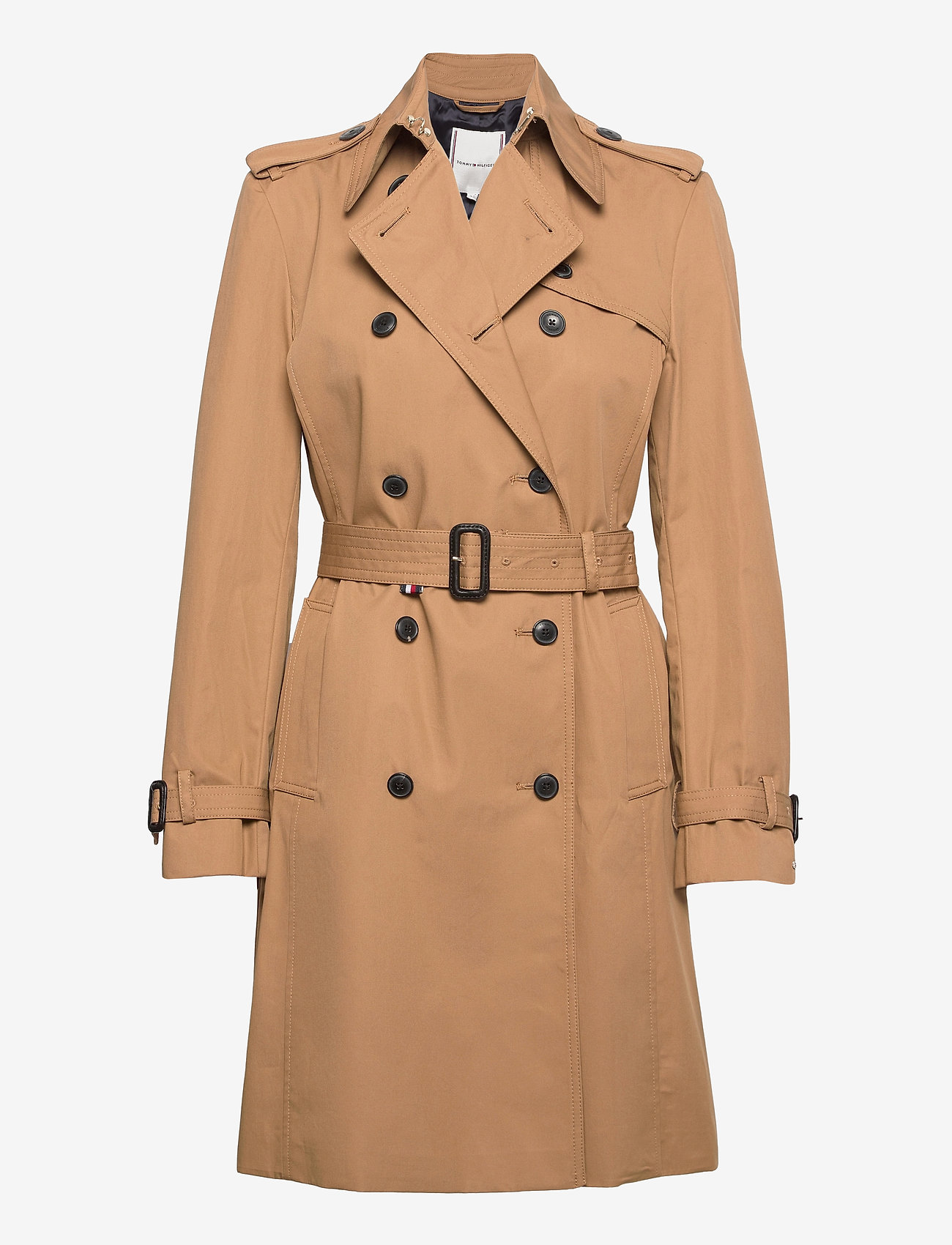 Tommy Hilfiger - COTTON BLEND DB TRENCH - trench coats - countryside khaki - 1