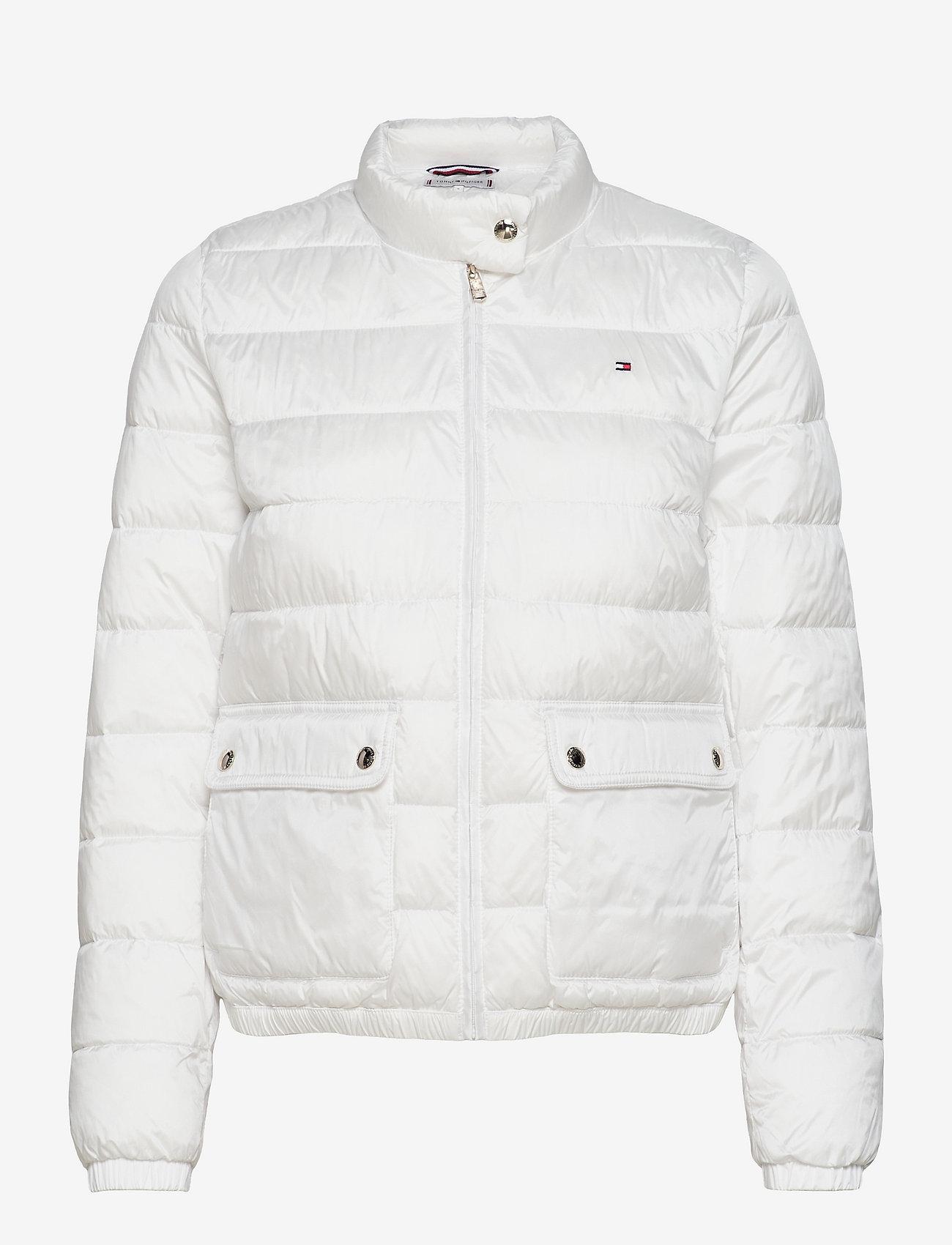 Tommy Hilfiger - NYLON LW PADDED JACKET - winter jackets - ecru - 0