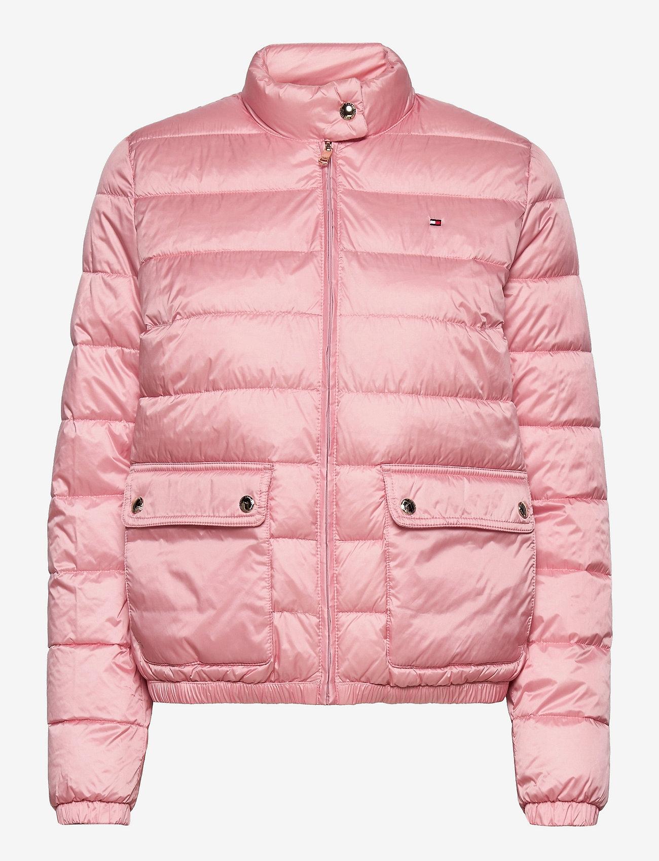 Tommy Hilfiger - NYLON LW PADDED JACKET - winter jackets - glacier pink - 0