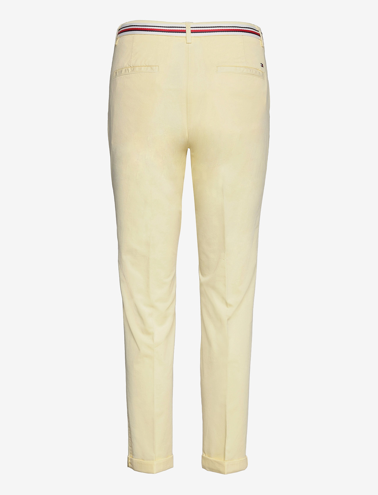 Tommy Hilfiger - CO TENCEL CHINO SLIM PANT - chinos - frosted lemon - 1