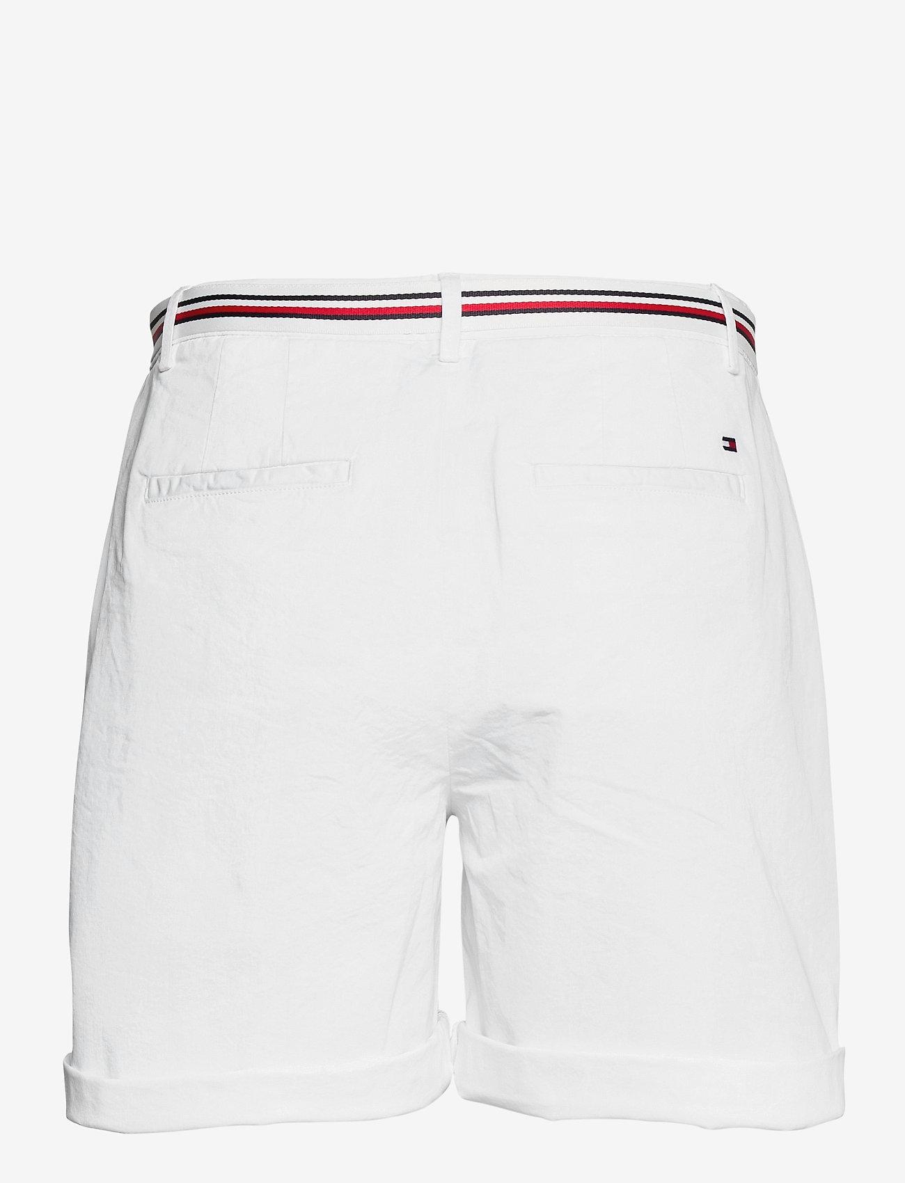 Tommy Hilfiger - COTTON TENCEL CHINO RW SHORT - chino shorts - white - 1