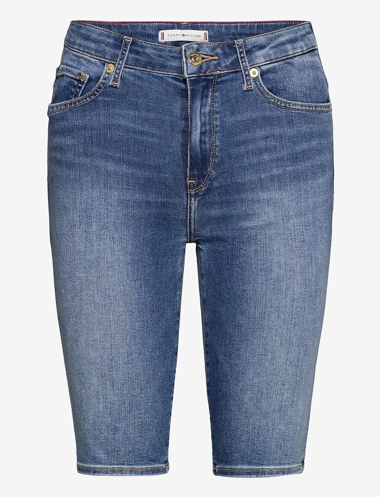 Tommy Hilfiger - TH FLEX VENICE SLIM RW IZZY BERM - jeansshorts - izzy - 0