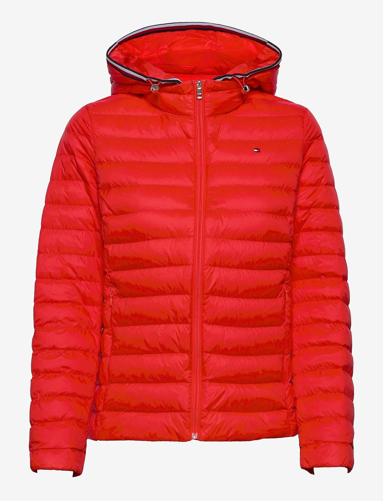 Tommy Hilfiger - TH ESS LW DOWN JKT - winter jackets - daring scarlet - 0