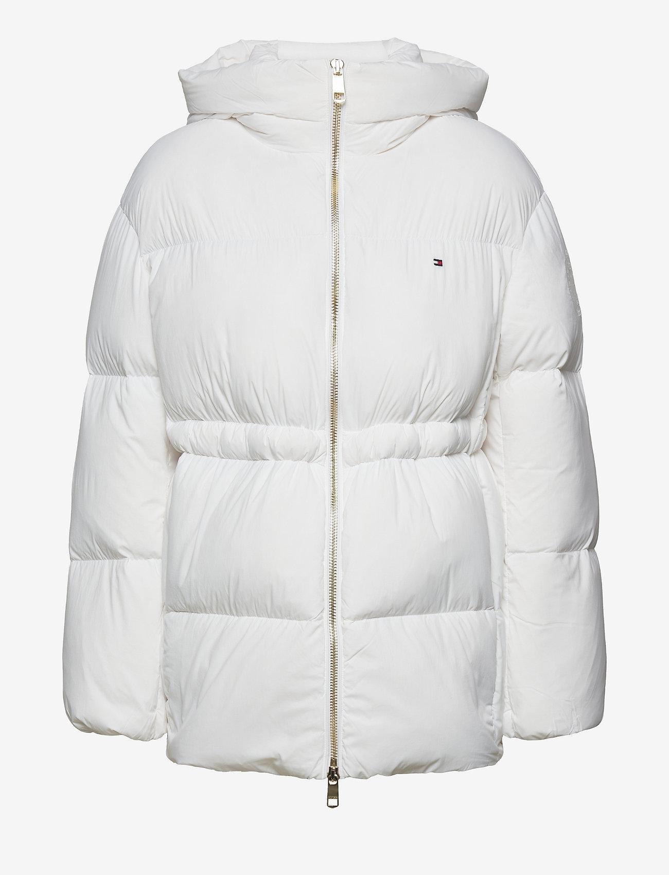 Tommy Hilfiger - NYLON DOWN PUFFER COAT - winter jackets - white - 0