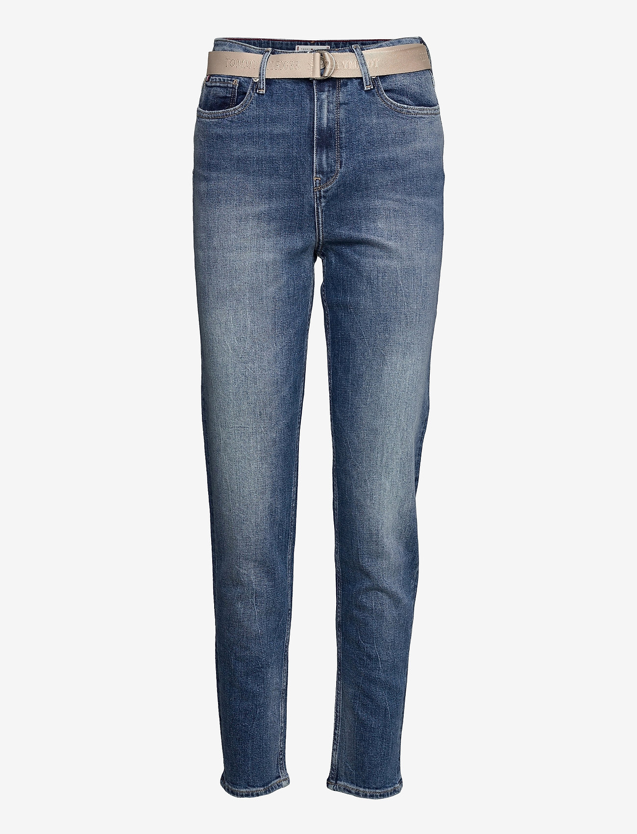 Tommy Hilfiger - GRAMERCY TAPERED HW A LUS - straight jeans - lus - 0