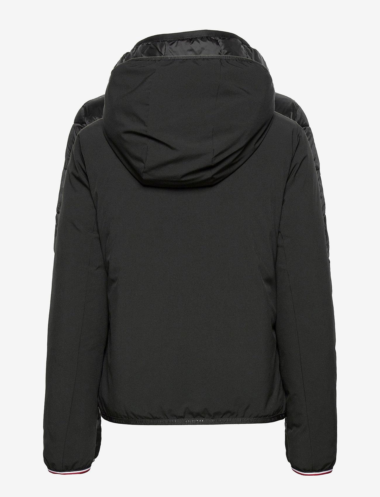 Tommy Hilfiger - TH ESS REVERSIBLE PADDED JACKET - winter jackets - black - 1