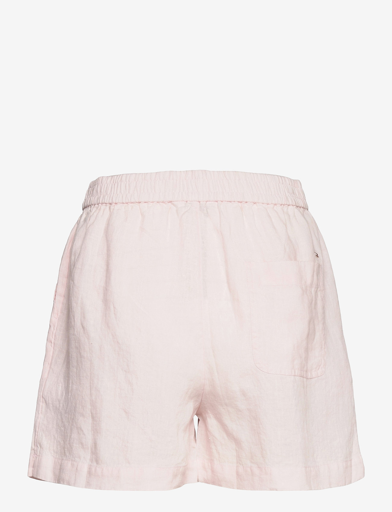 Tommy Hilfiger - ABO LINEN SHORT - shorts casual - light pink - 1
