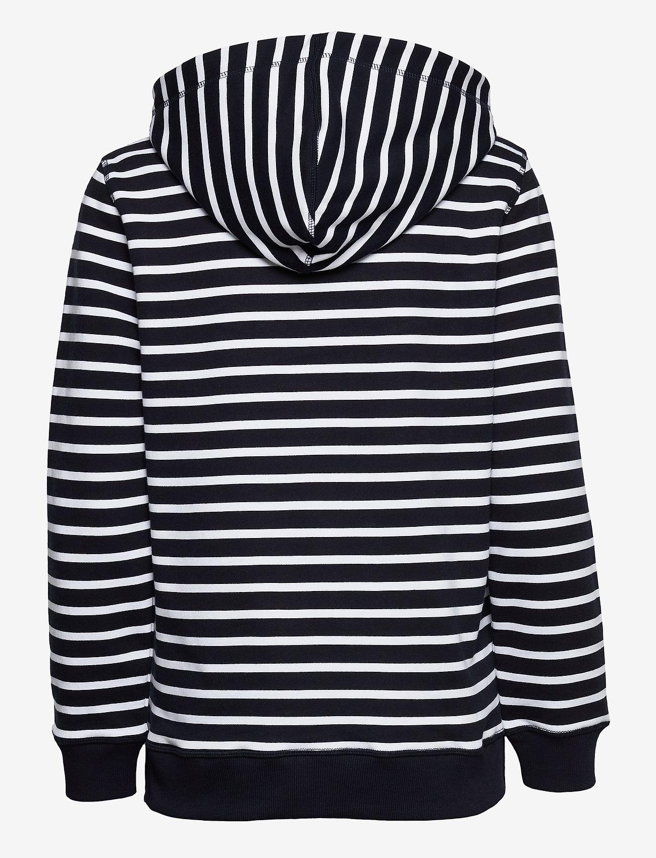 Tommy Hilfiger - ABO REGULAR FLAG HOODIE - sweatshirts & hættetrøjer - classic brenton stp/ dsrt sky/ wht - 1