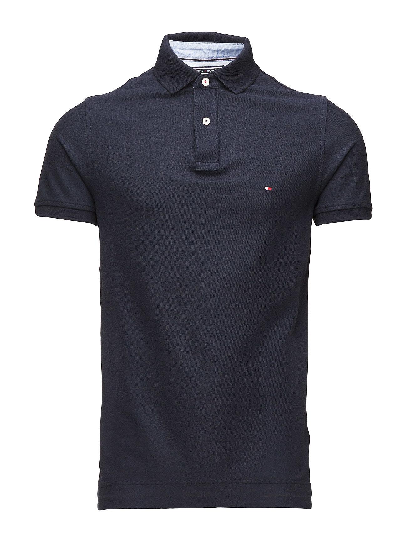 Image of Core Hilfiger Slim Polo Polos Short-sleeved Blå Tommy Hilfiger (3452102479)