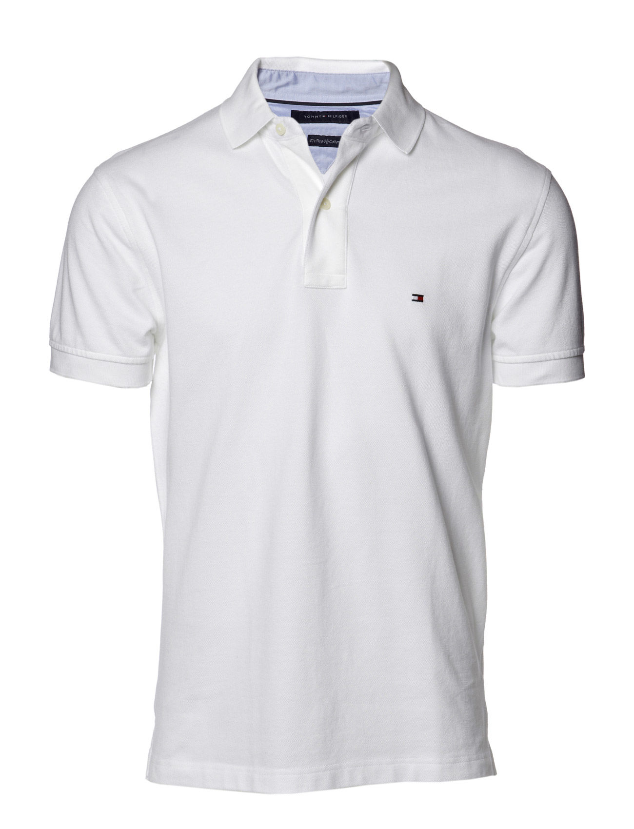 Tommy Hilfiger CORE / NEW TOMMY KNIT S/SL - CLASSIC WHITE