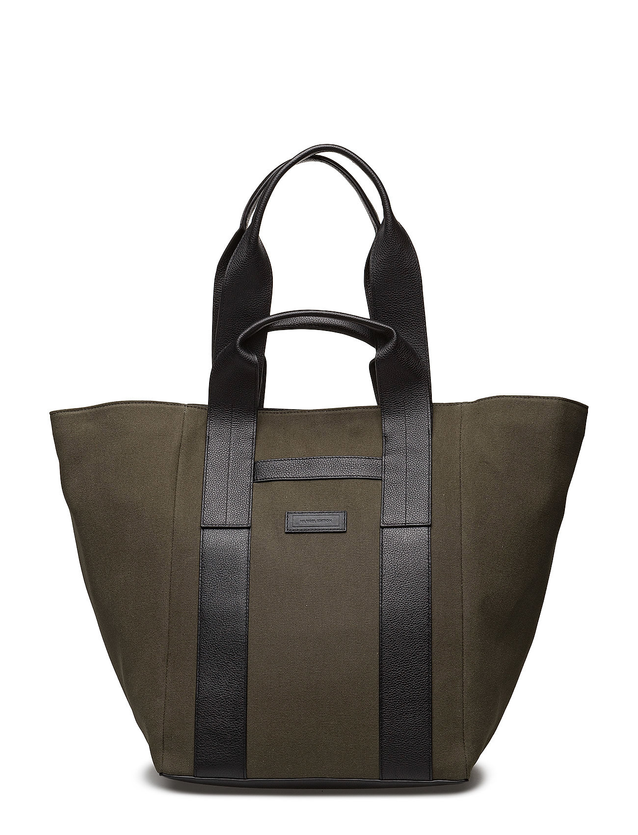 Tommy Hilfiger TH EDITION TOTE - GREEN / BLACK