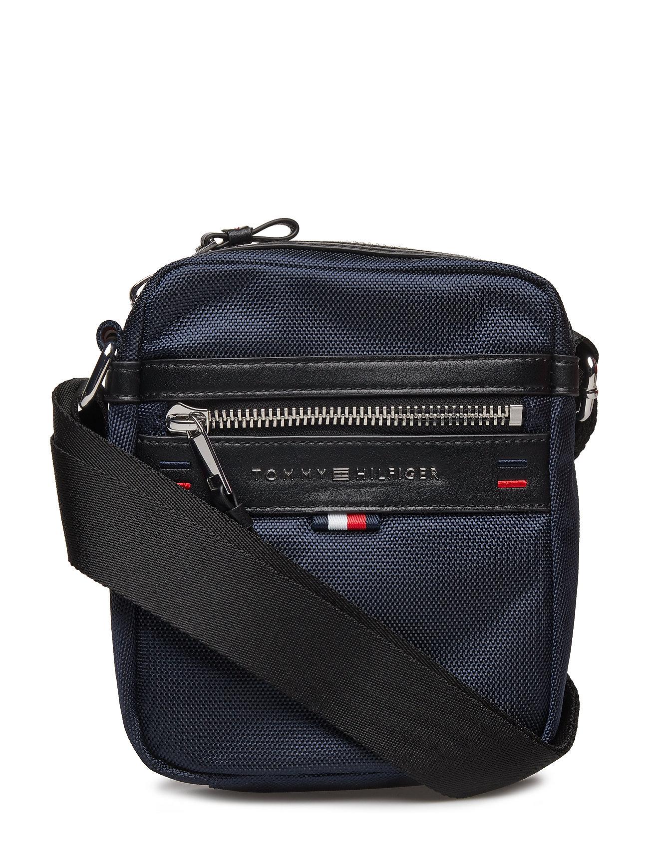 Hypermoderne Tommy Hilfiger computertasker – Elevated Mini Reporter til herre i QZ-28