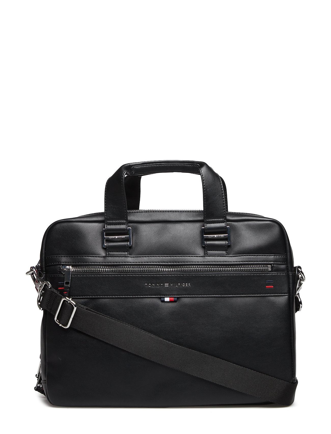 Tidsmæssigt Sort Tommy Hilfiger Elevated Workbag Novelty computertasker for FX-52