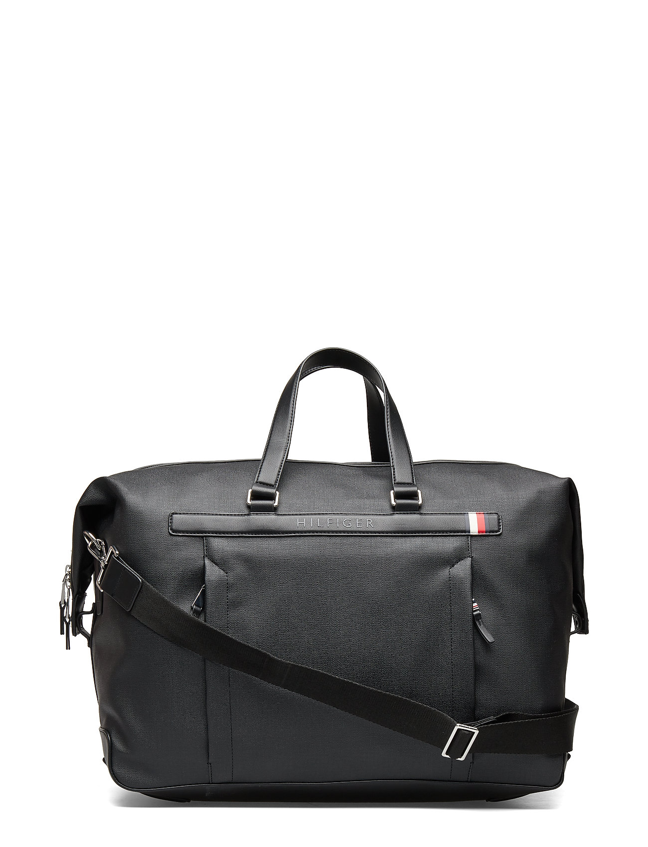 TOMMY HILFIGER Coated Canvas Duffle Bags Weekend & Gym Bags Schwarz TOMMY HILFIGER