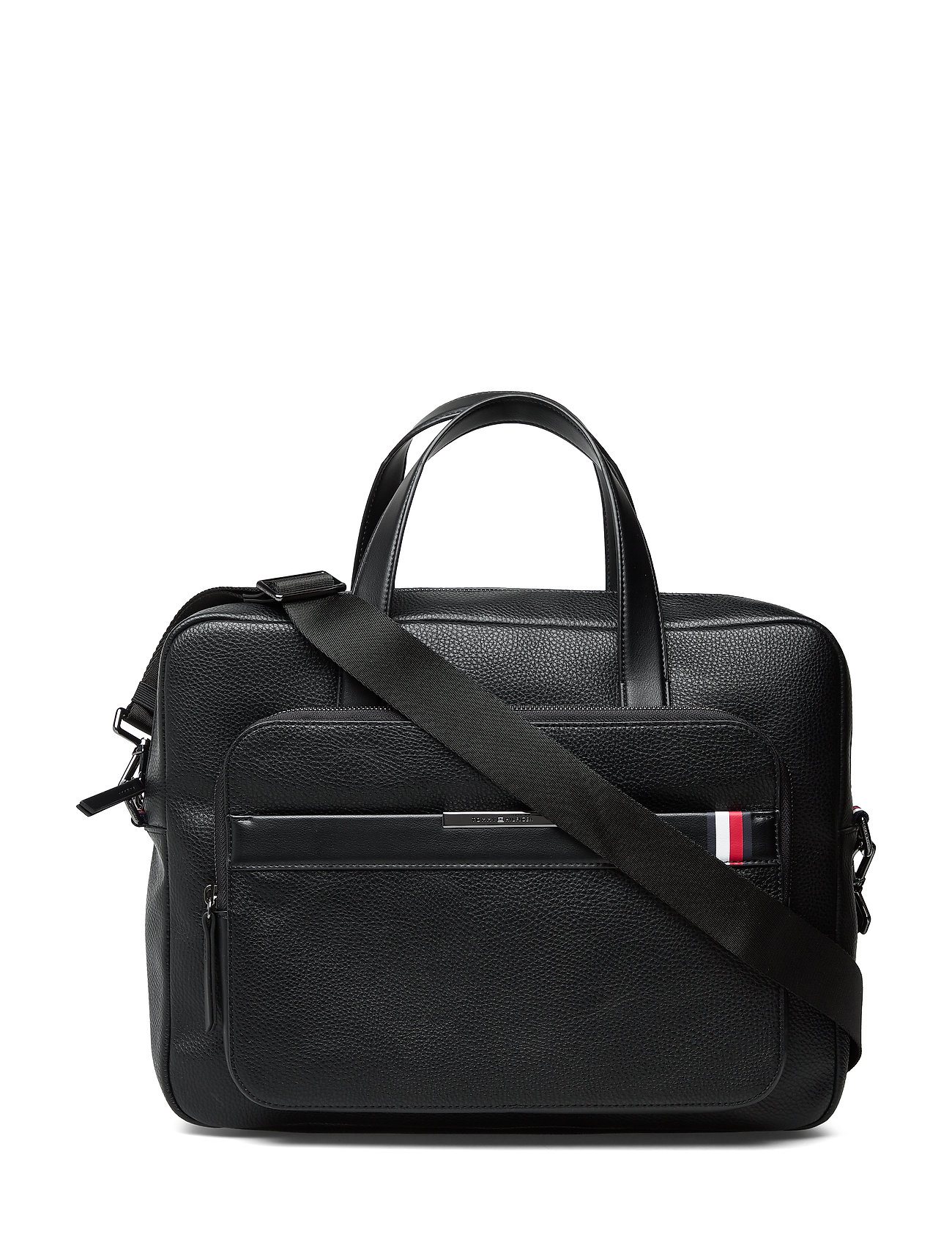 Tommy Hilfiger TH DOWNTOWN COMPUTER BAG - BLACK