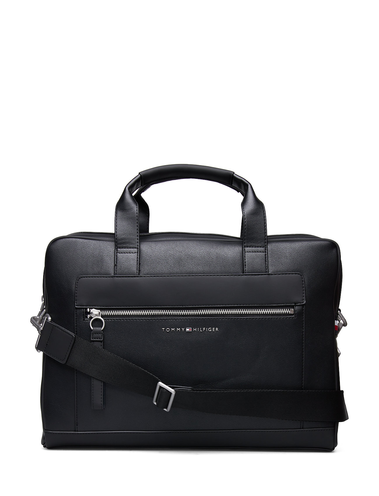 Tommy Hilfiger TH METRO COMPUTER BA - BLACK