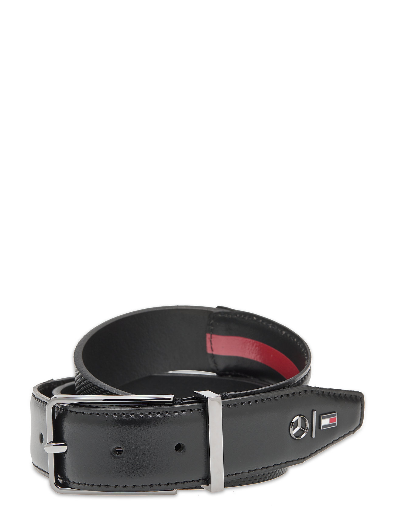 Image of 2mb Textured Belt Accessories Belts Classic Belts Sort Tommy Hilfiger (3453134783)