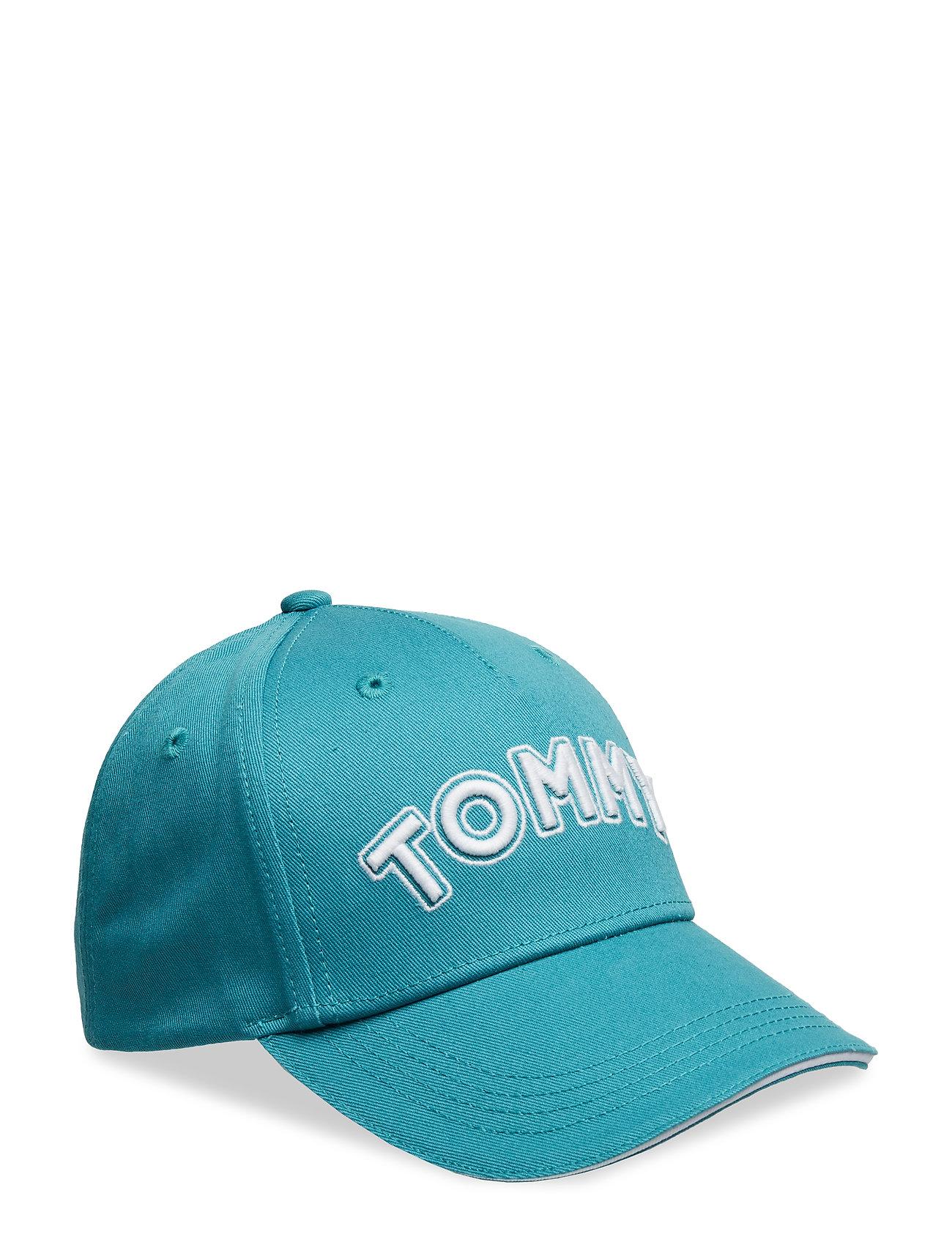 7d3c9295495a Unisex Tommy Cap caps fra Tommy Hilfiger til dame i GREEN BLUE SLATE ...