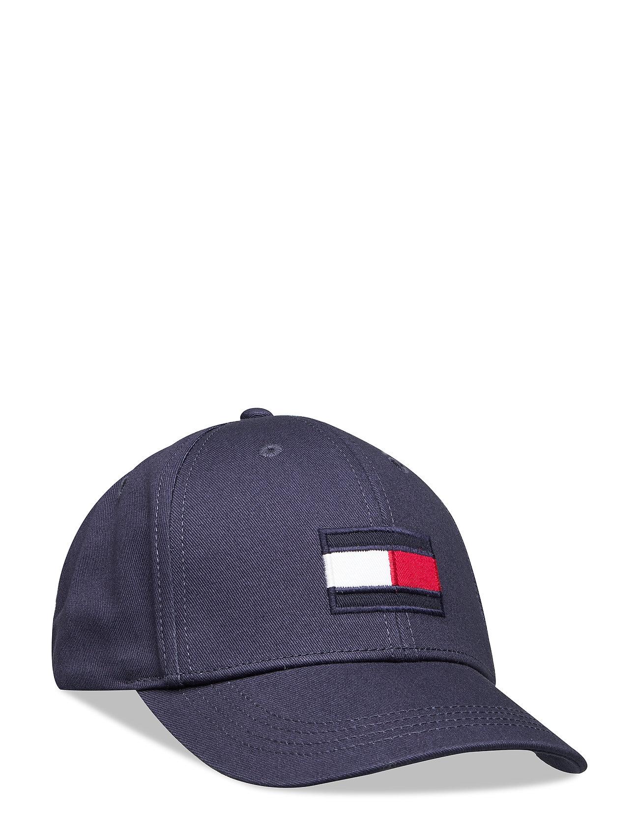 Tommy Hilfiger BIG FLAG CAP - BLACK IRIS