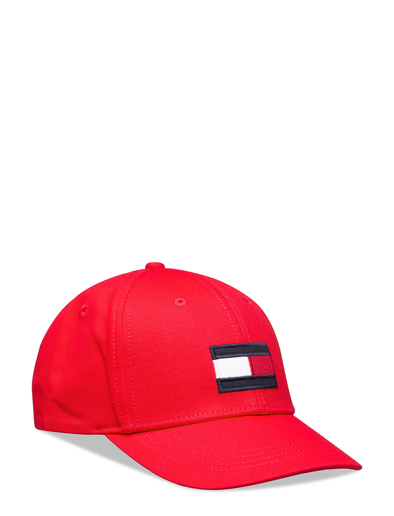 Tommy Hilfiger BIG FLAG CAP - RACING RED