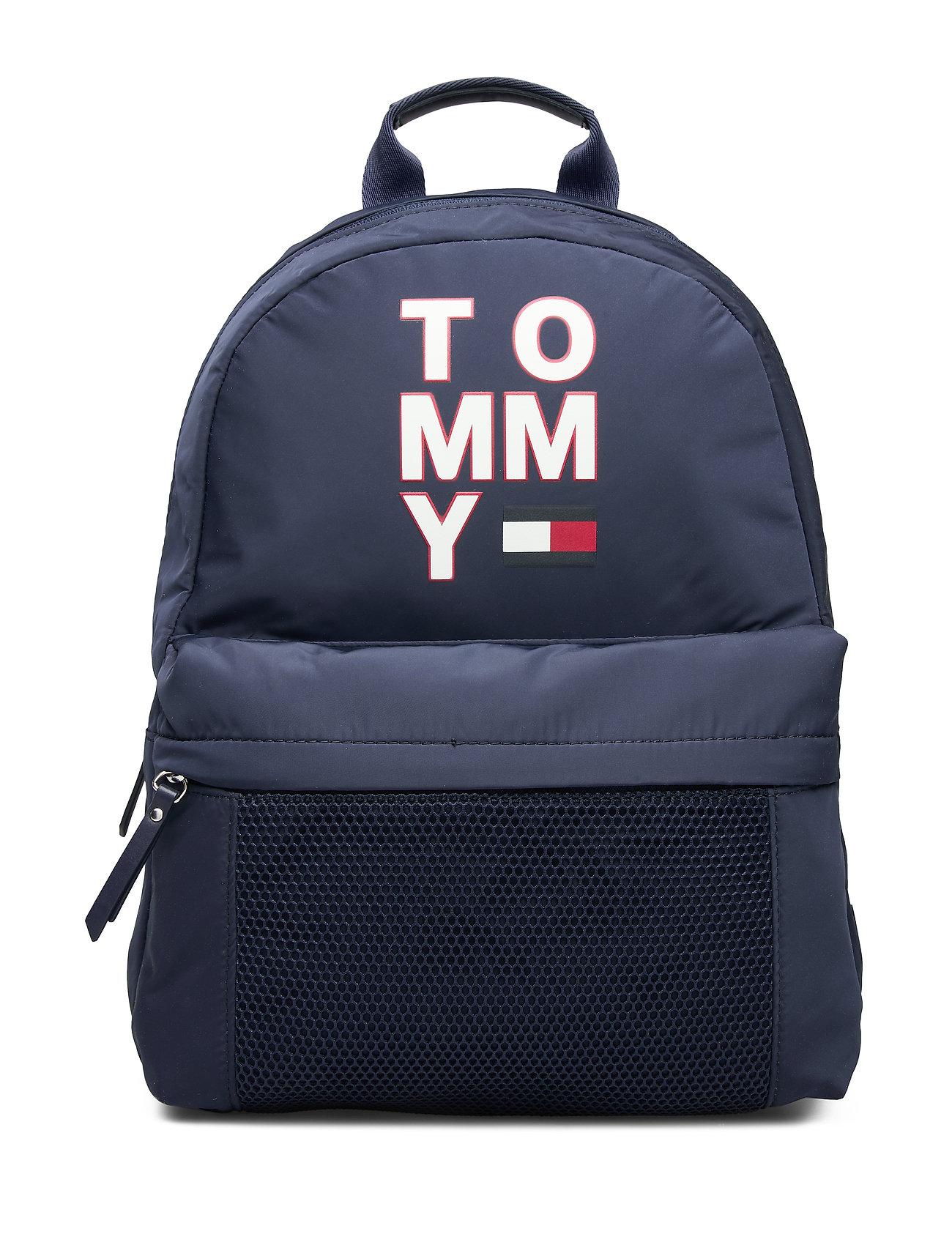 Tommy Hilfiger TH KIDS TOMMY BACKPA - BLACK IRIS
