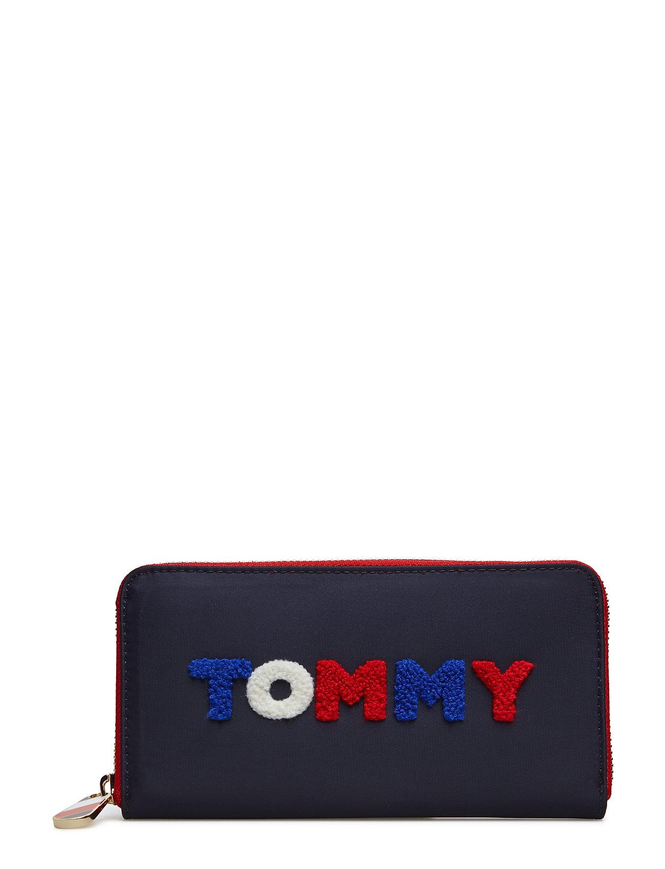 Poppy Lrg Za Wallet Tommy Navy Tommy Print 3295 Tommy