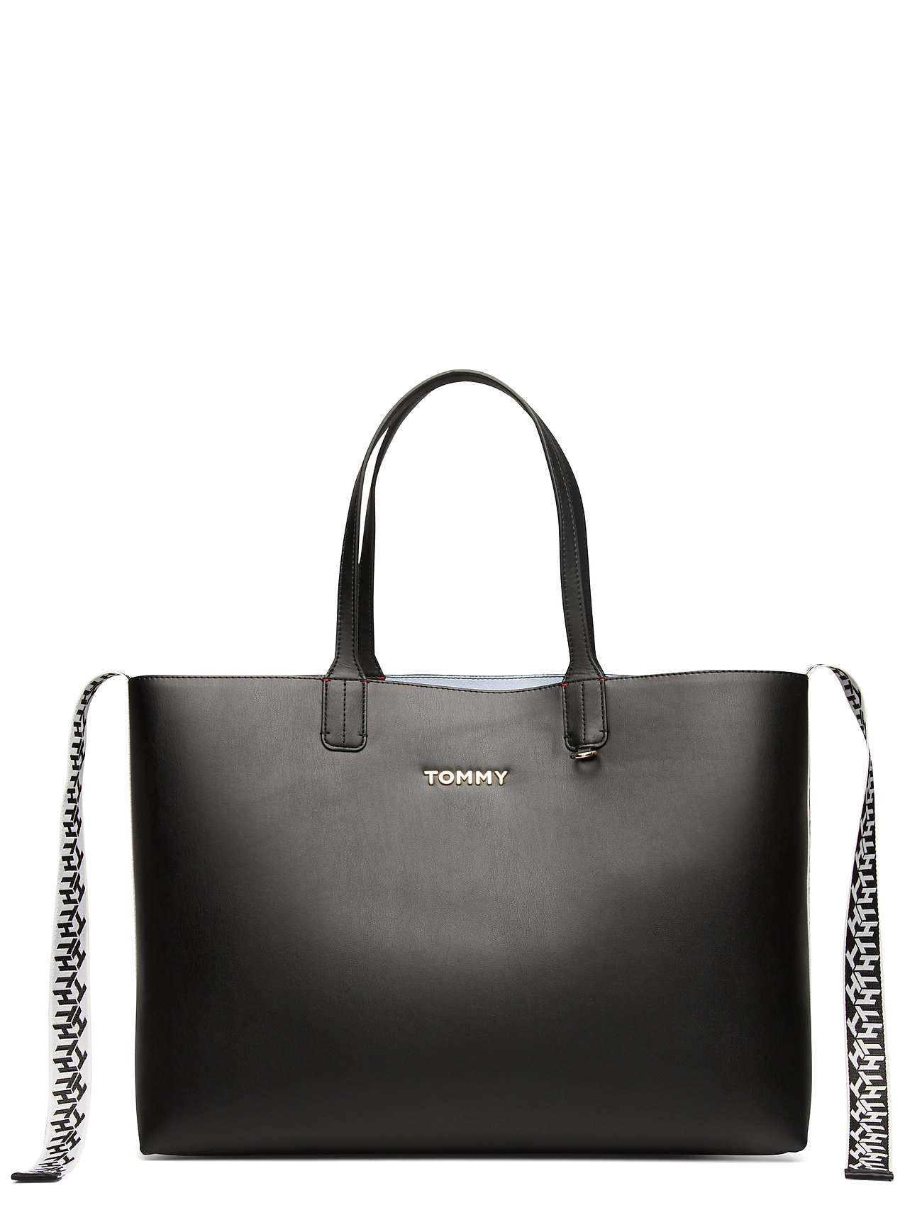 Tommy Hilfiger ICONIC TOMMY TOTE - BLACK