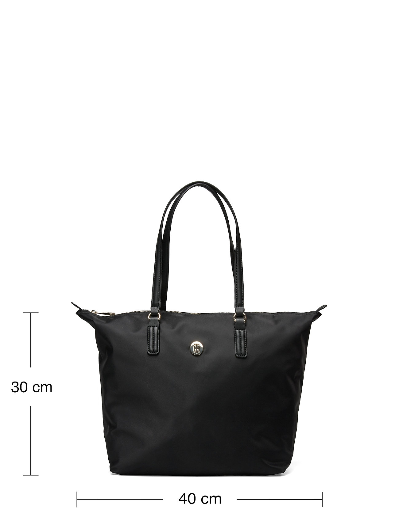 Tommy Hilfiger - POPPY TOTE - totes - black - 5