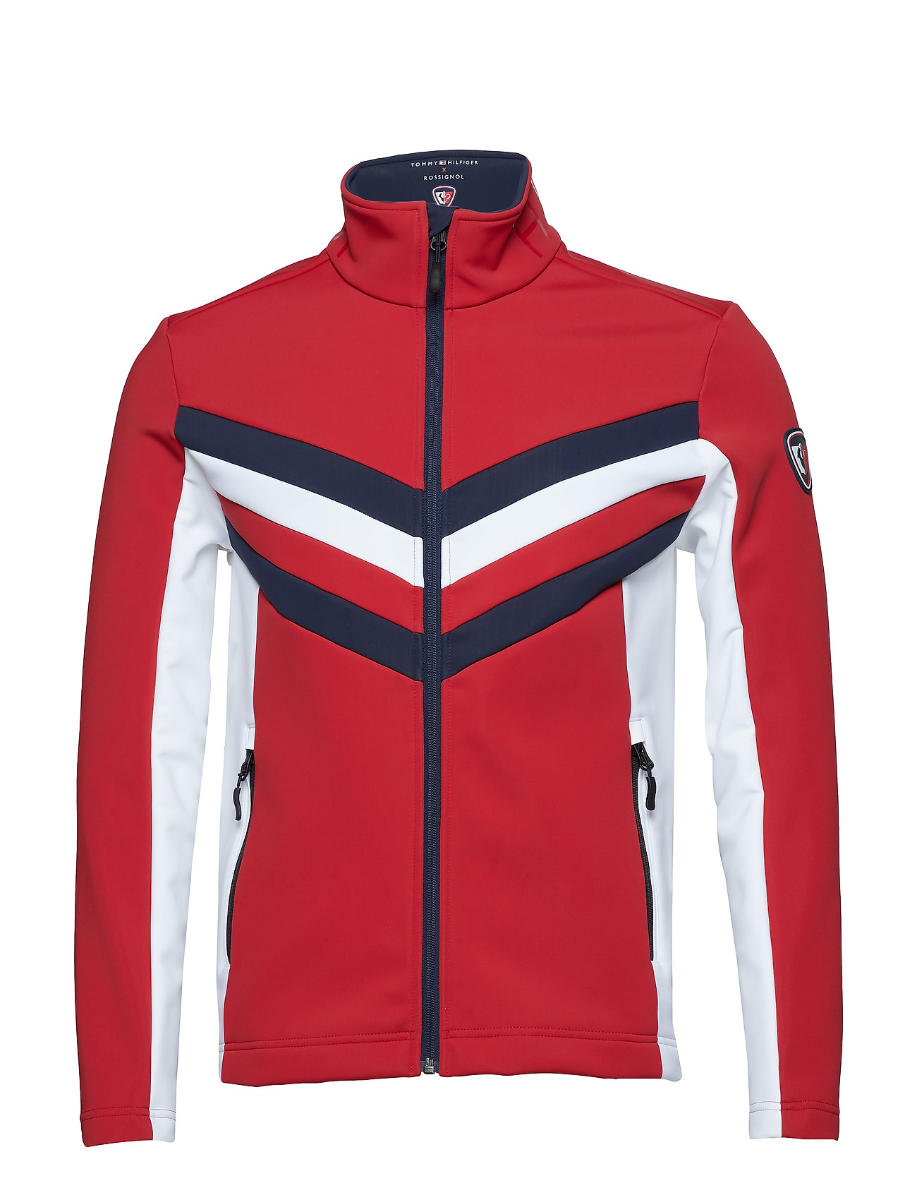Tommy Hilfiger THXR_008 LAY 2 / SIZZLING JKT - HAUTE RED