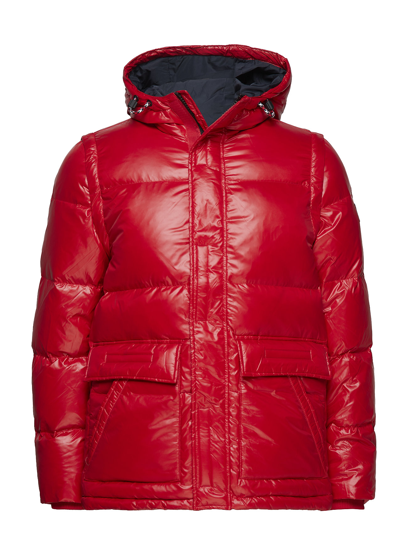 Tommy Hilfiger SHINY HOODED DOWN BO