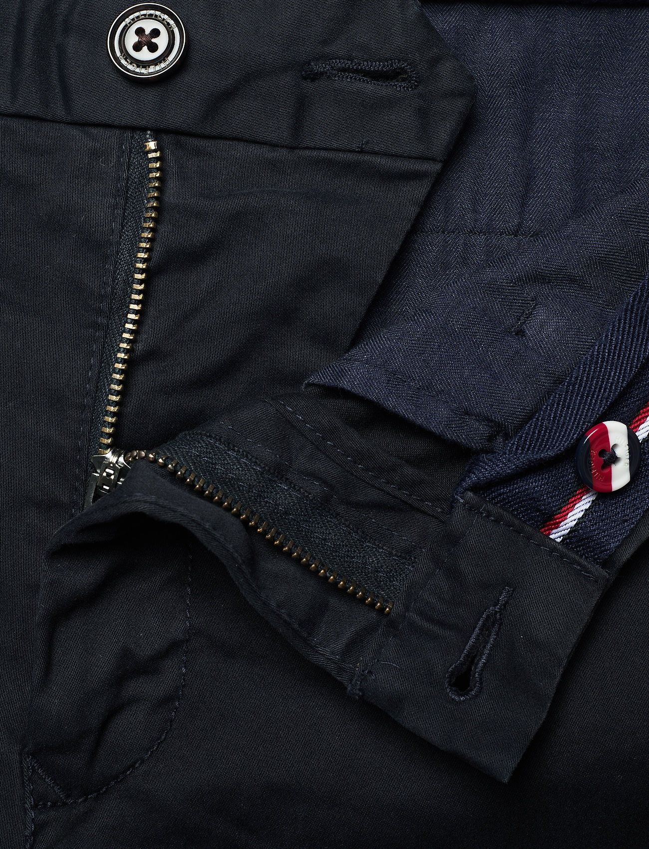 Tommy Hilfiger - CORE STRAIGHT CHINO GMD FLEX - chino's - sky captain - 3