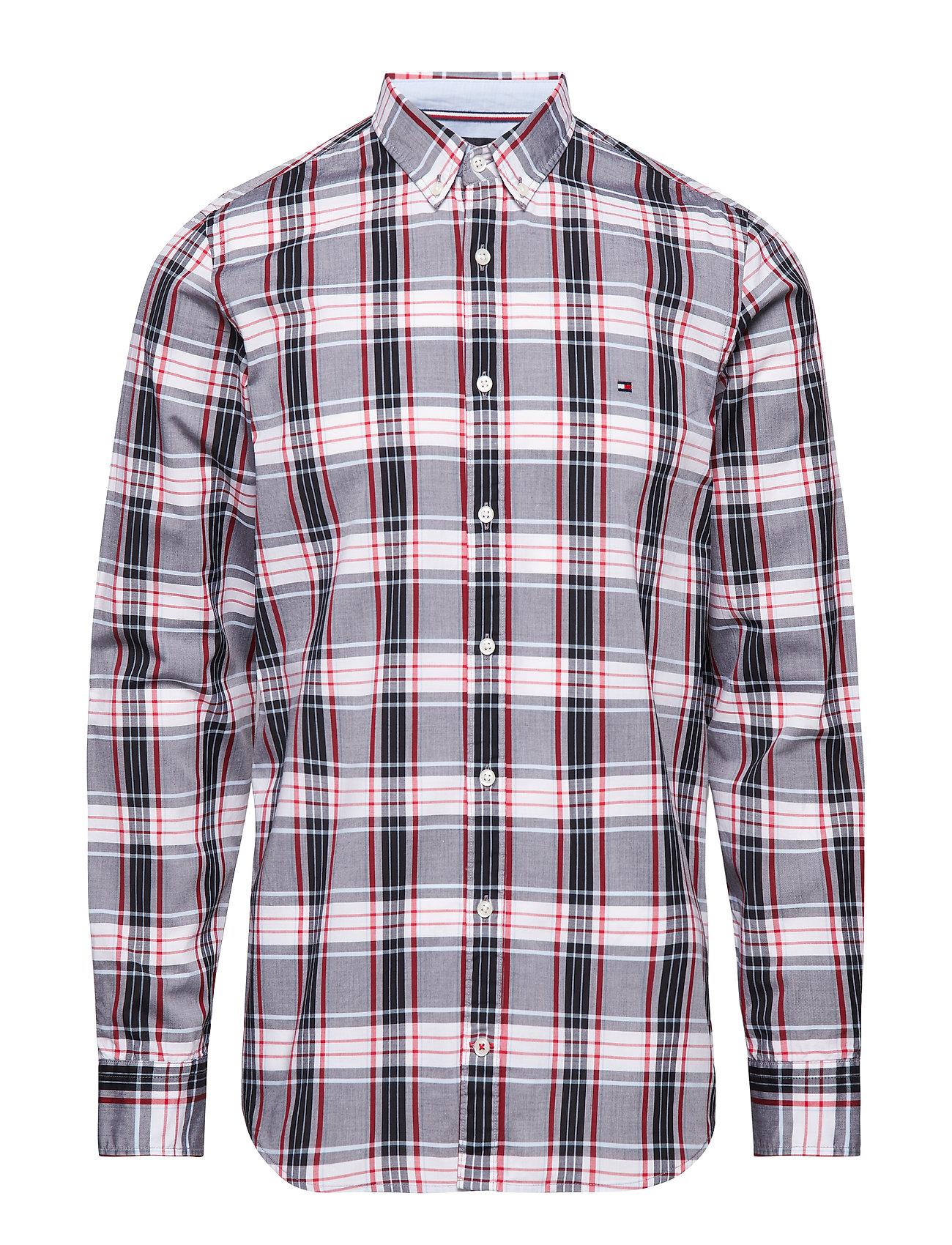Image of Slim Multi Color Che Skjorte Casual Multi/mønstret TOMMY HILFIGER (3086388099)