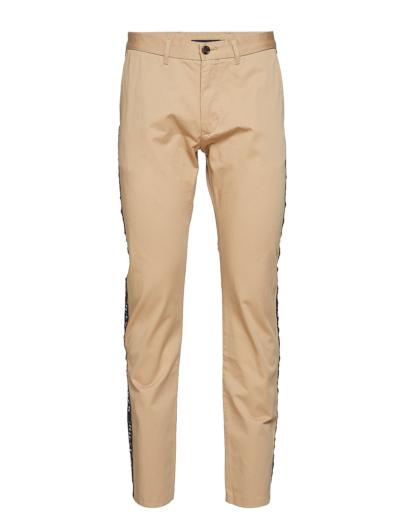 Tommy Hilfiger RELAXED CHINO SIDE T - BATIQUE KHAKI