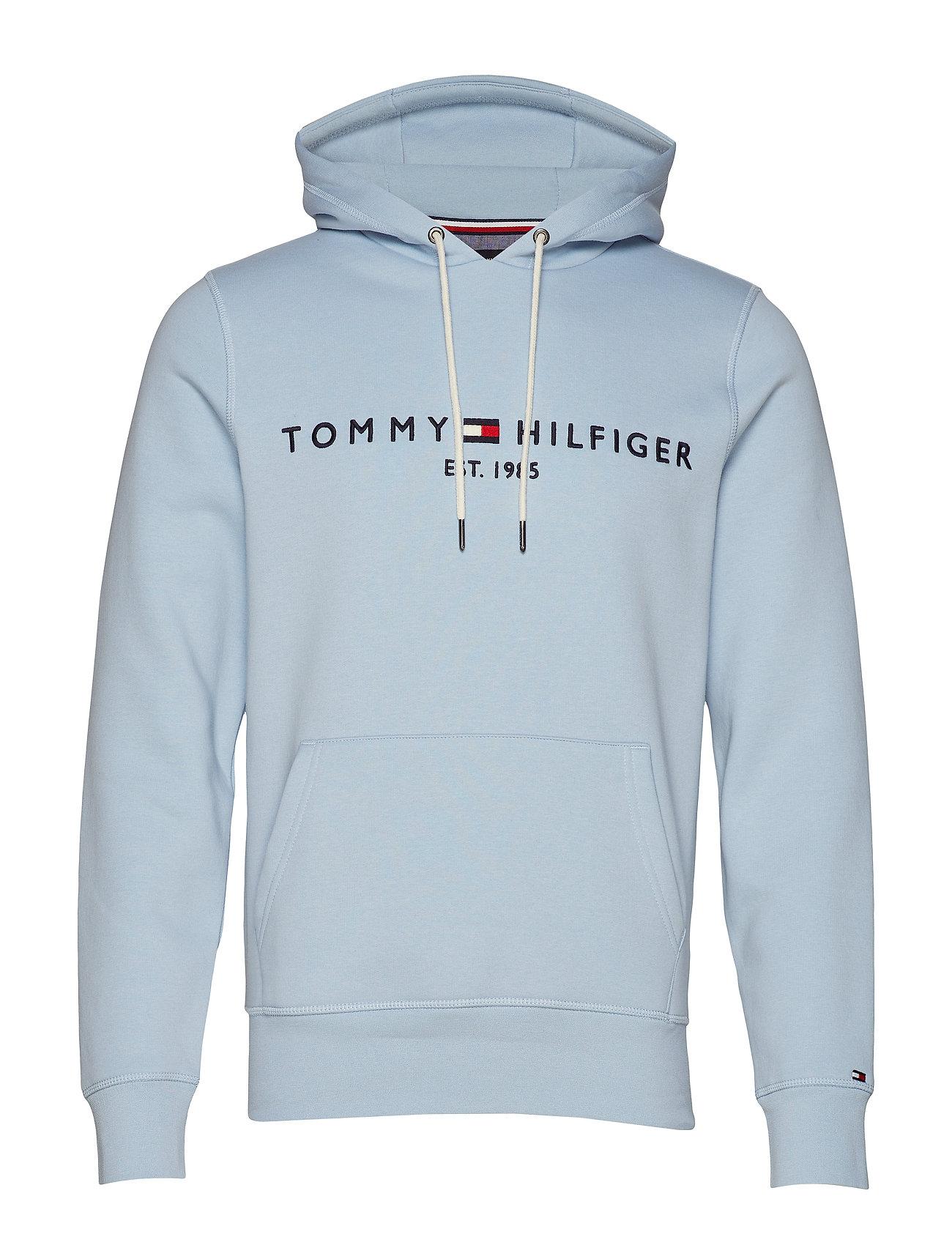 Tommy Logo Hoodychambray Tommy Hoodychambray Logo BlueHilfiger zVGSMjUpLq