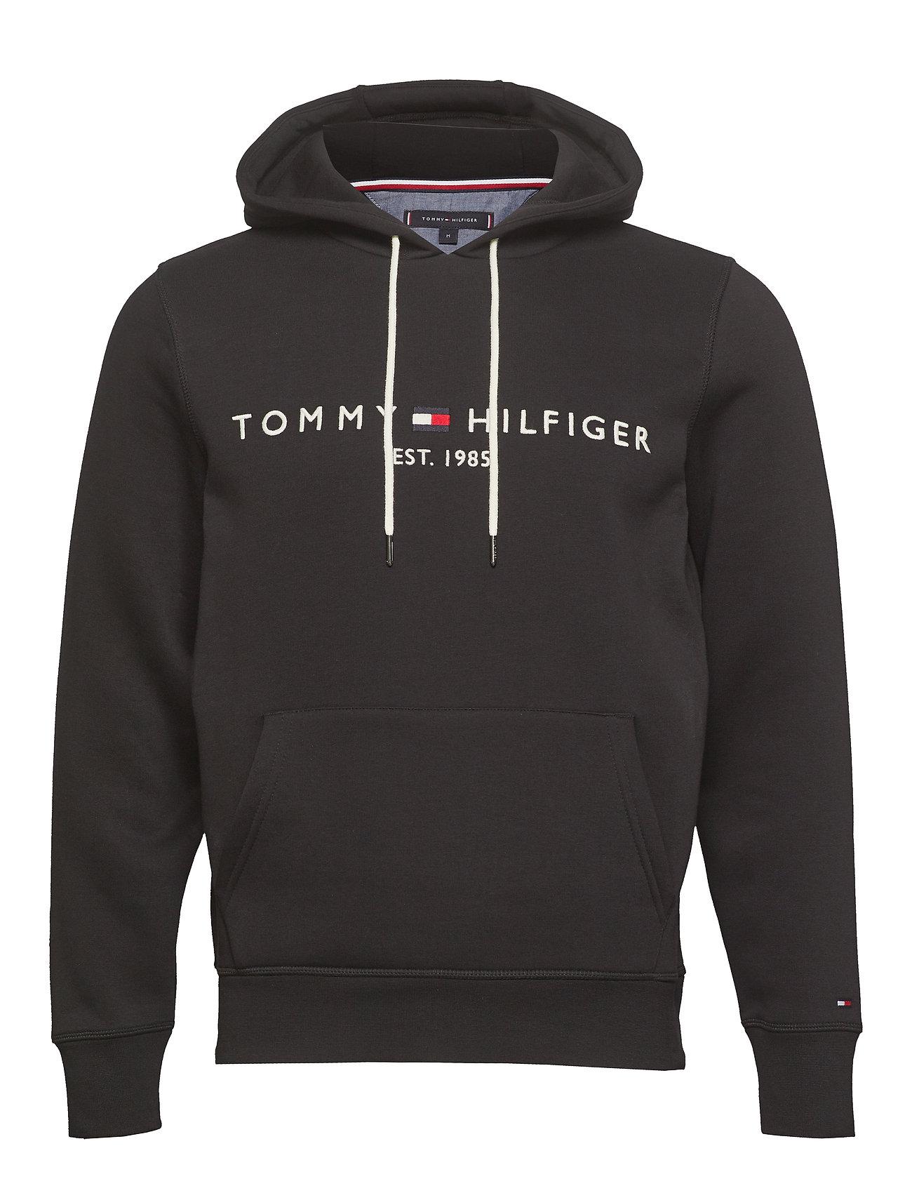 Tommy Hilfiger TOMMY LOGO HOODY - JET BLACK