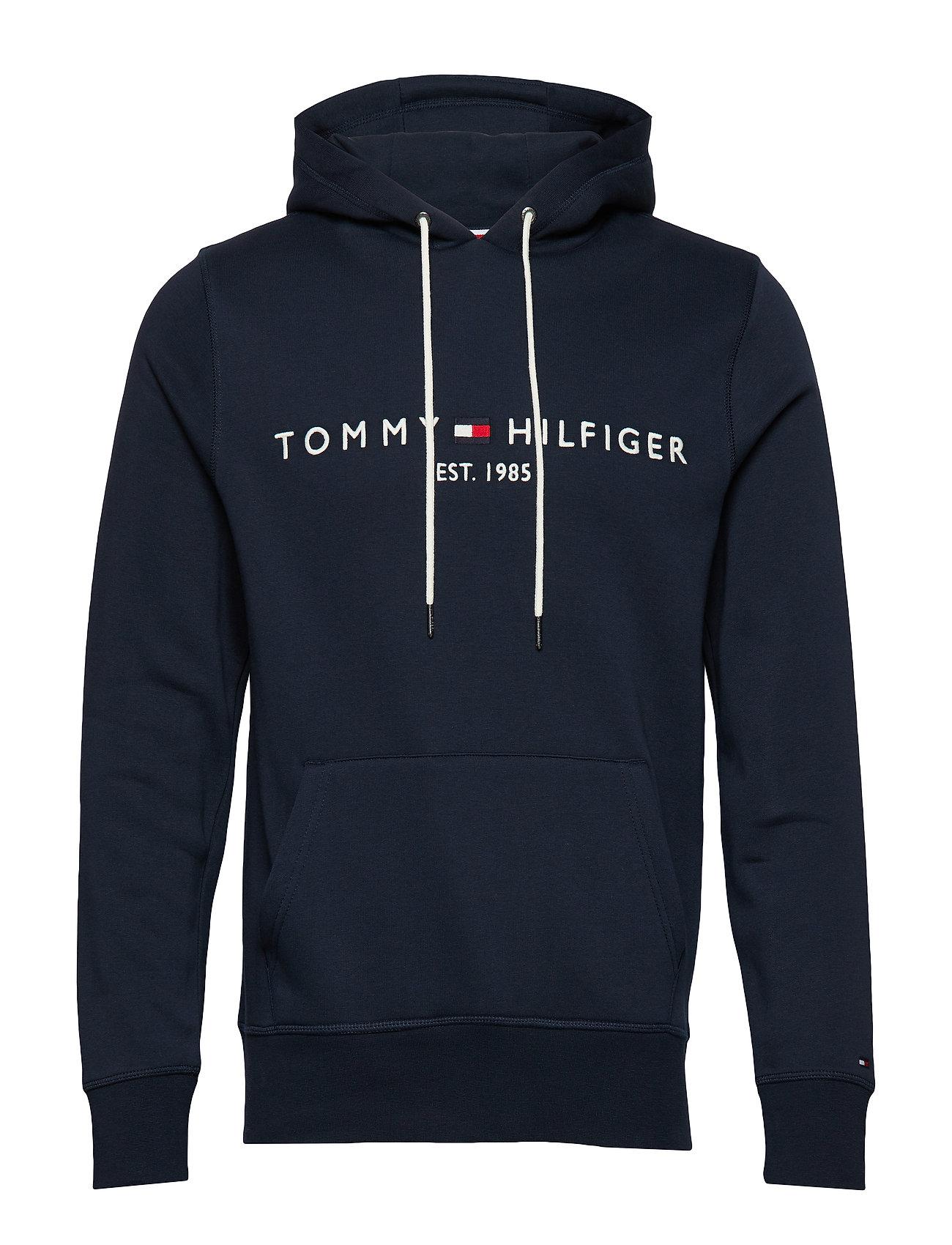 Tommy Hilfiger TOMMY LOGO HOODY - SKY CAPTAIN