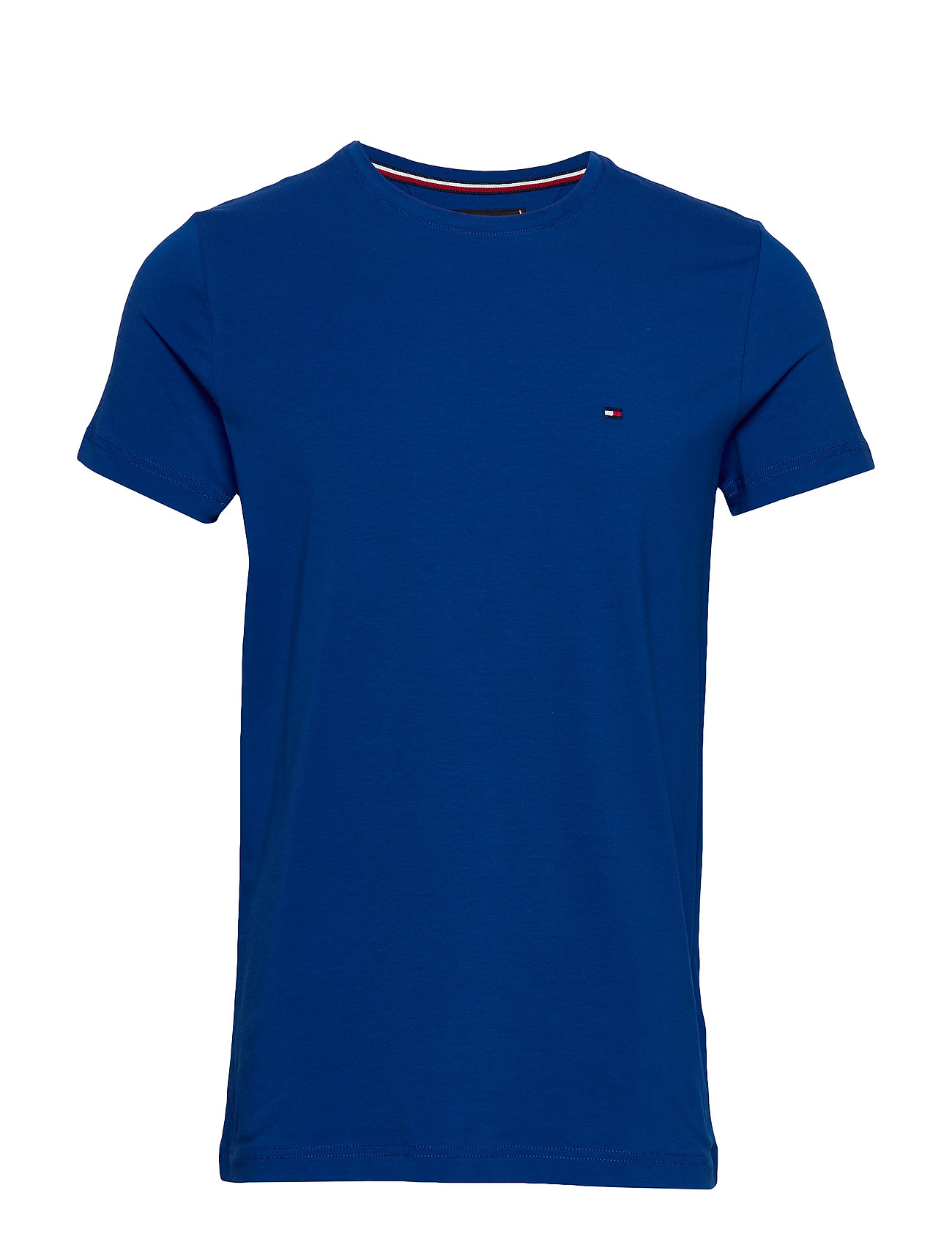 Tommy Hilfiger STRETCH SLIM FIT TEE - COBALT