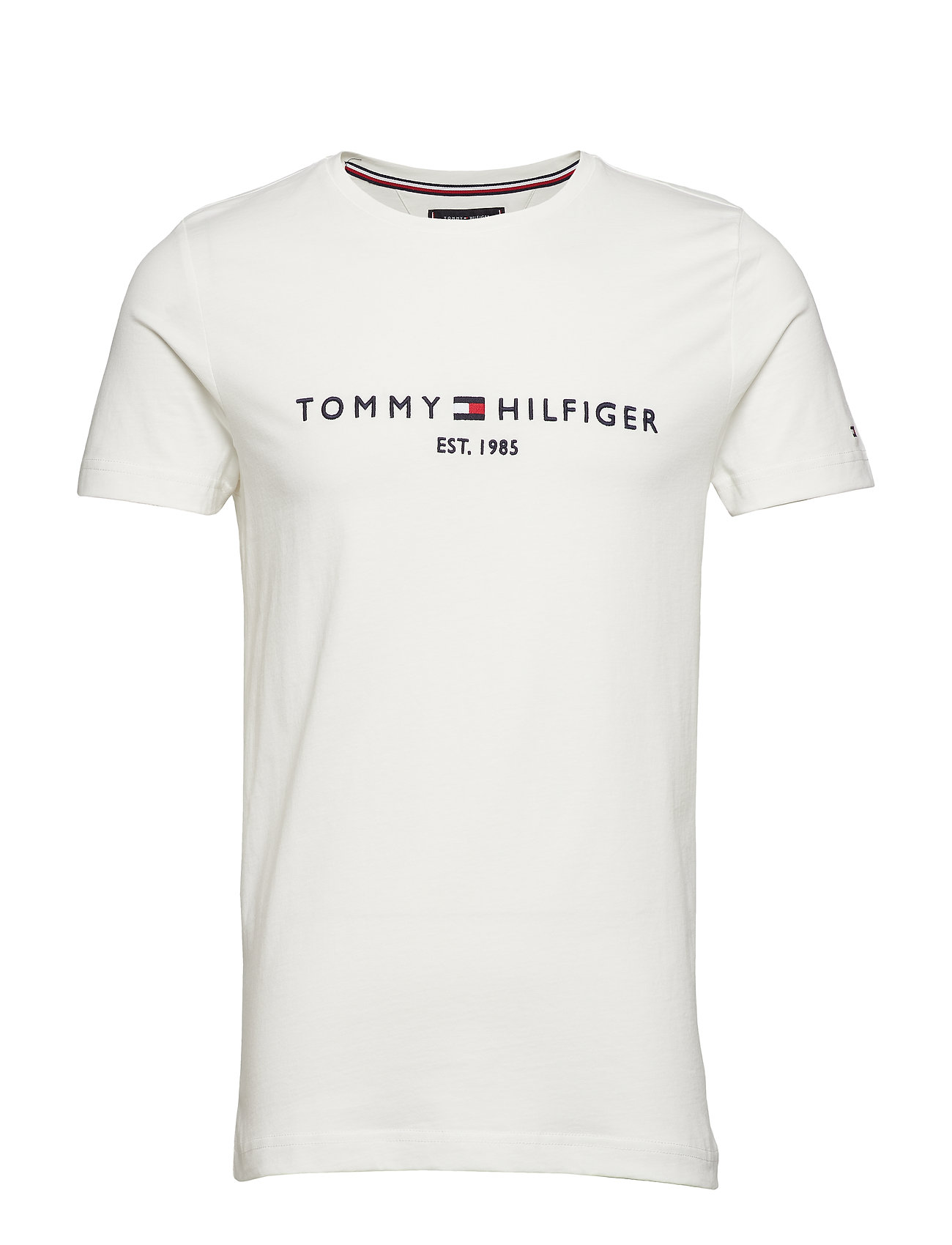 Tommy Hilfiger TOMMY LOGO TEE - SNOW WHITE