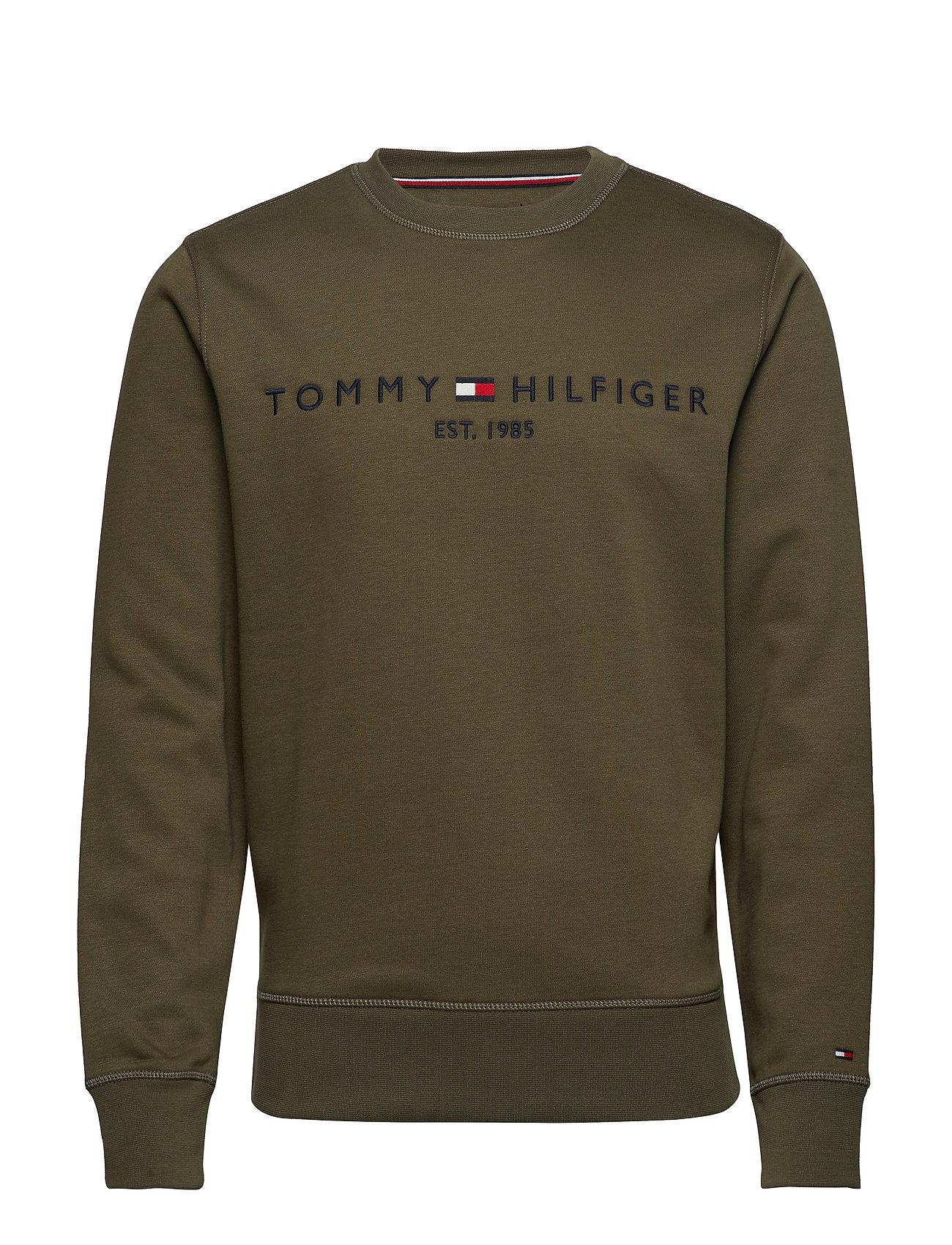 Sweatshirgrape Logo Tommy Tommy LeafHilfiger Logo MUzVqpGjLS