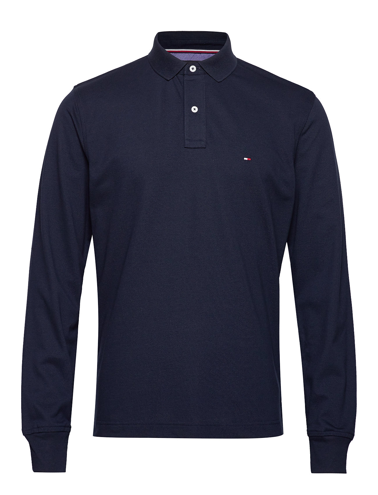 Tommy Hilfiger TOMMY REGULAR POLO LS - SKY CAPTAIN