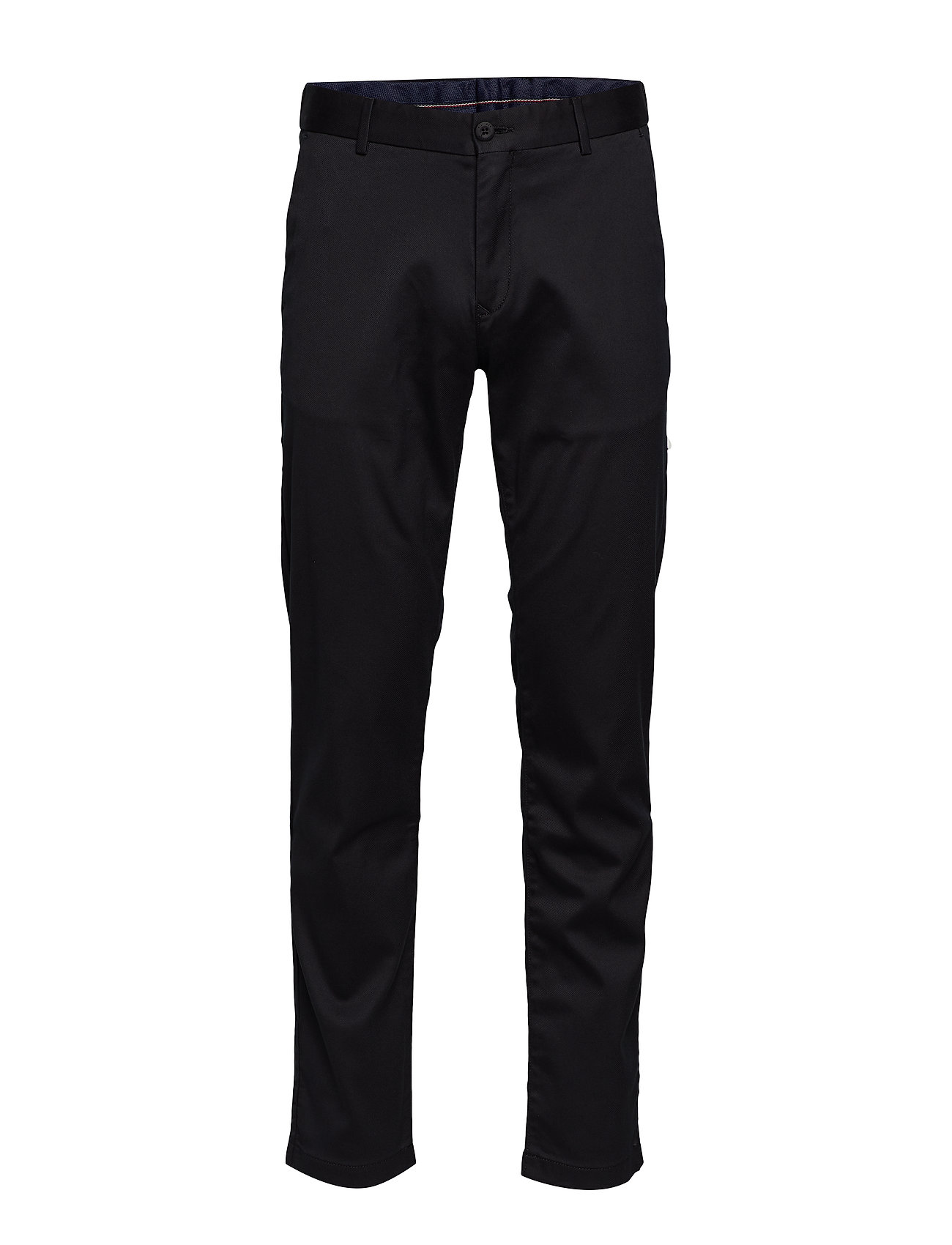 Tommy Hilfiger TAPERED TECH STRETCH TWILL FLEX - JET BLACK