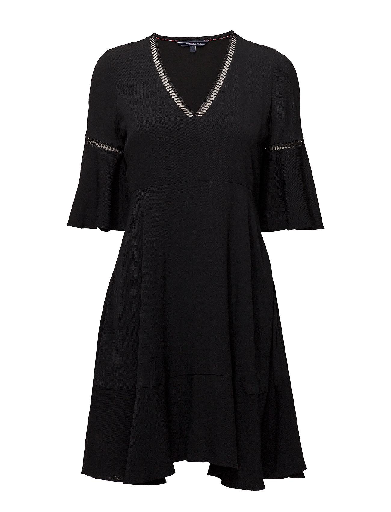 Tommy Hilfiger PEGGY DRESS SS - BLACK BEAUTY