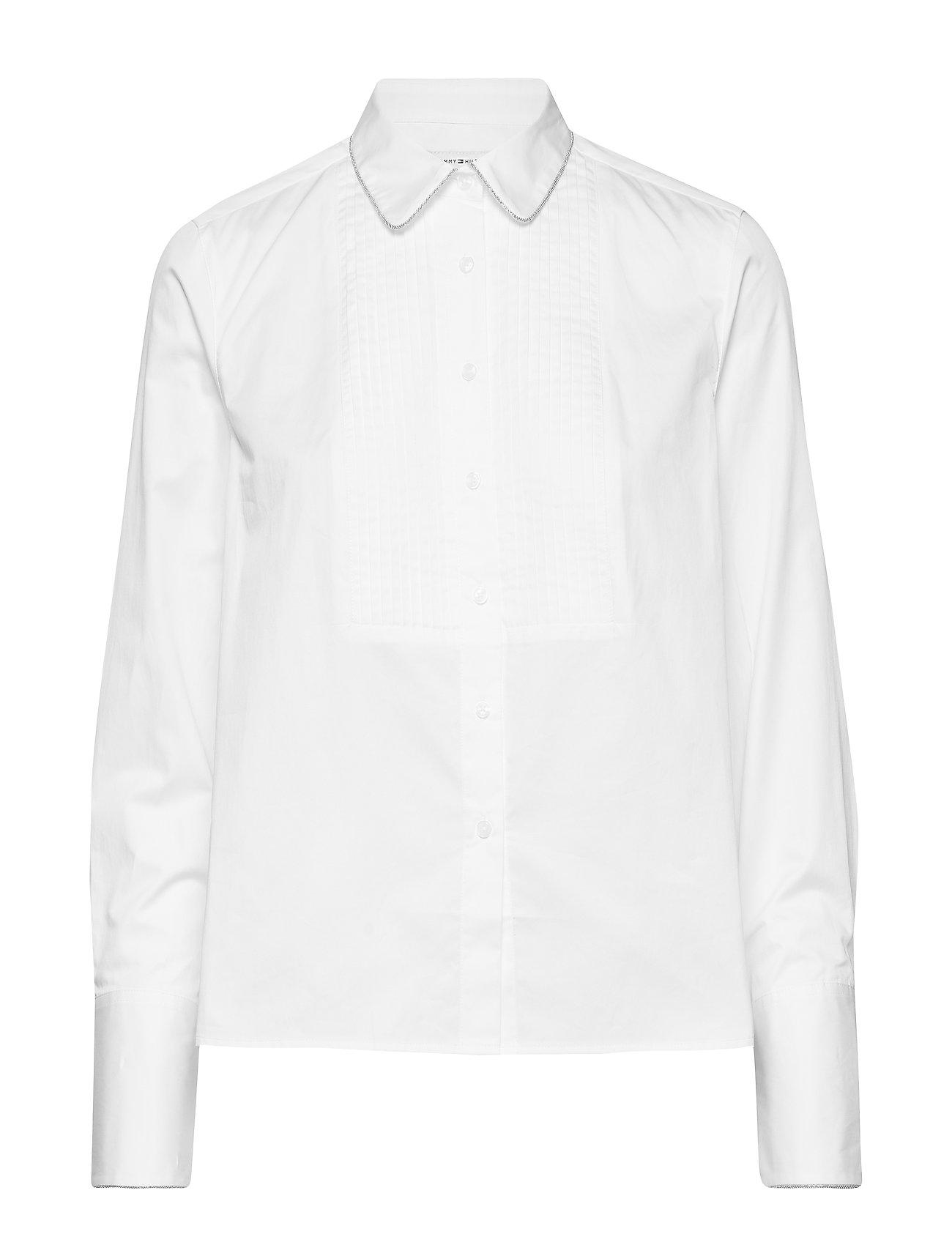 Tommy Hilfiger LULU SHIRT LS - CLASSIC WHITE