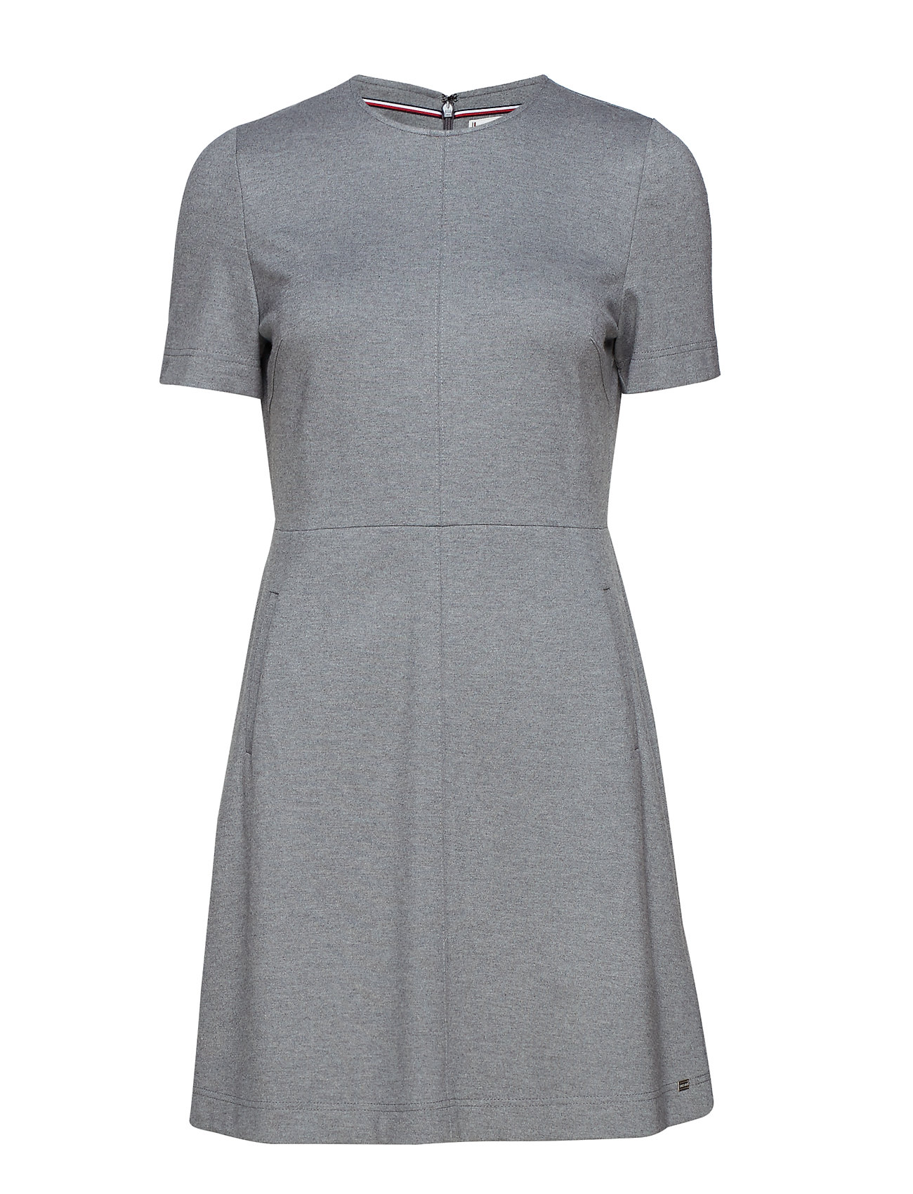 Tommy Hilfiger ARIELLE DRESS - MEDIUM GREY HTR