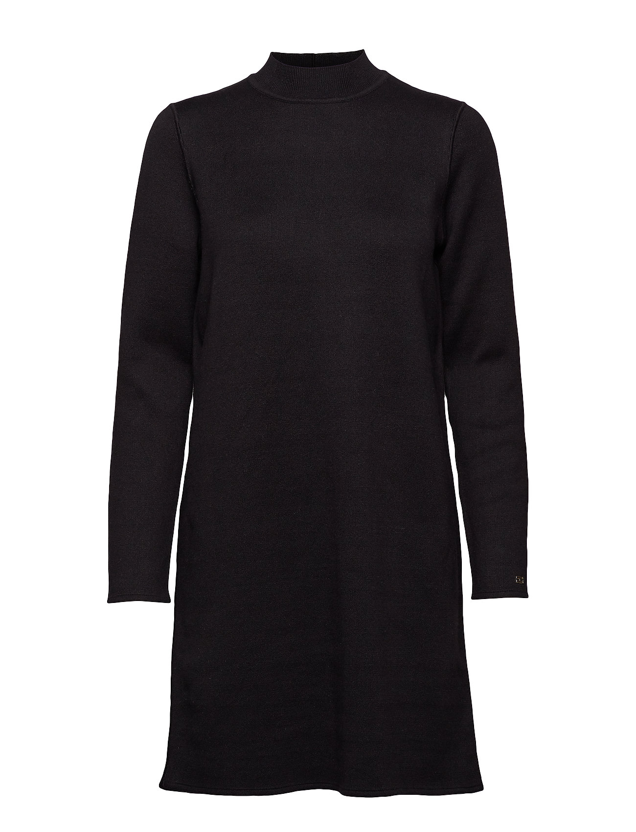 Tommy Hilfiger PHEBE HIGH-NK DRESS, - BLACK BEAUTY