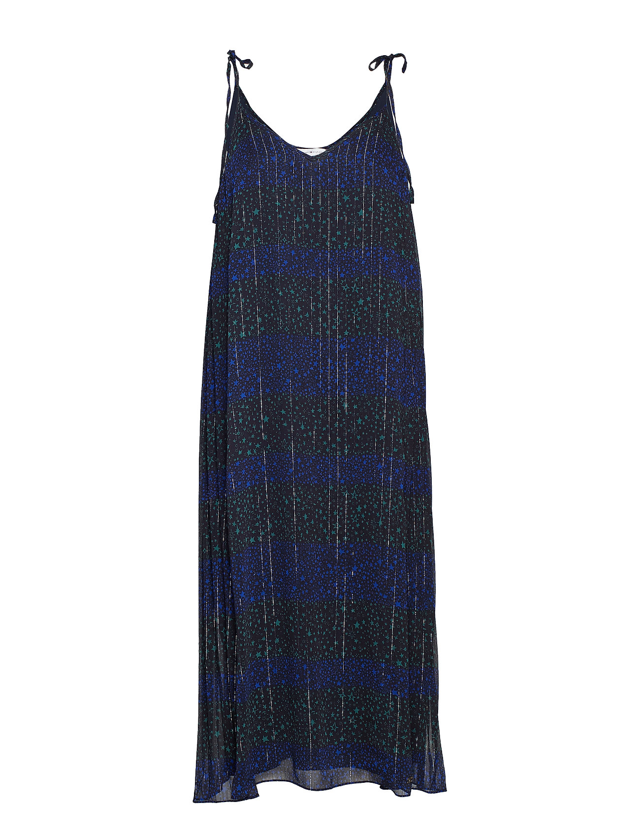 Tommy Hilfiger LUNA SLIP DRESS NS, - ALLOVER STAR PRT / BLACK BEAUT