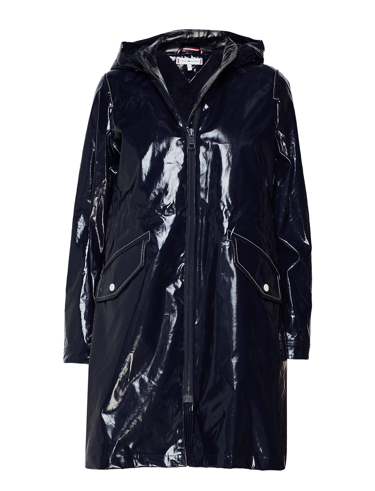 Tommy Hilfiger MAX LONG RAINCOAT, 4
