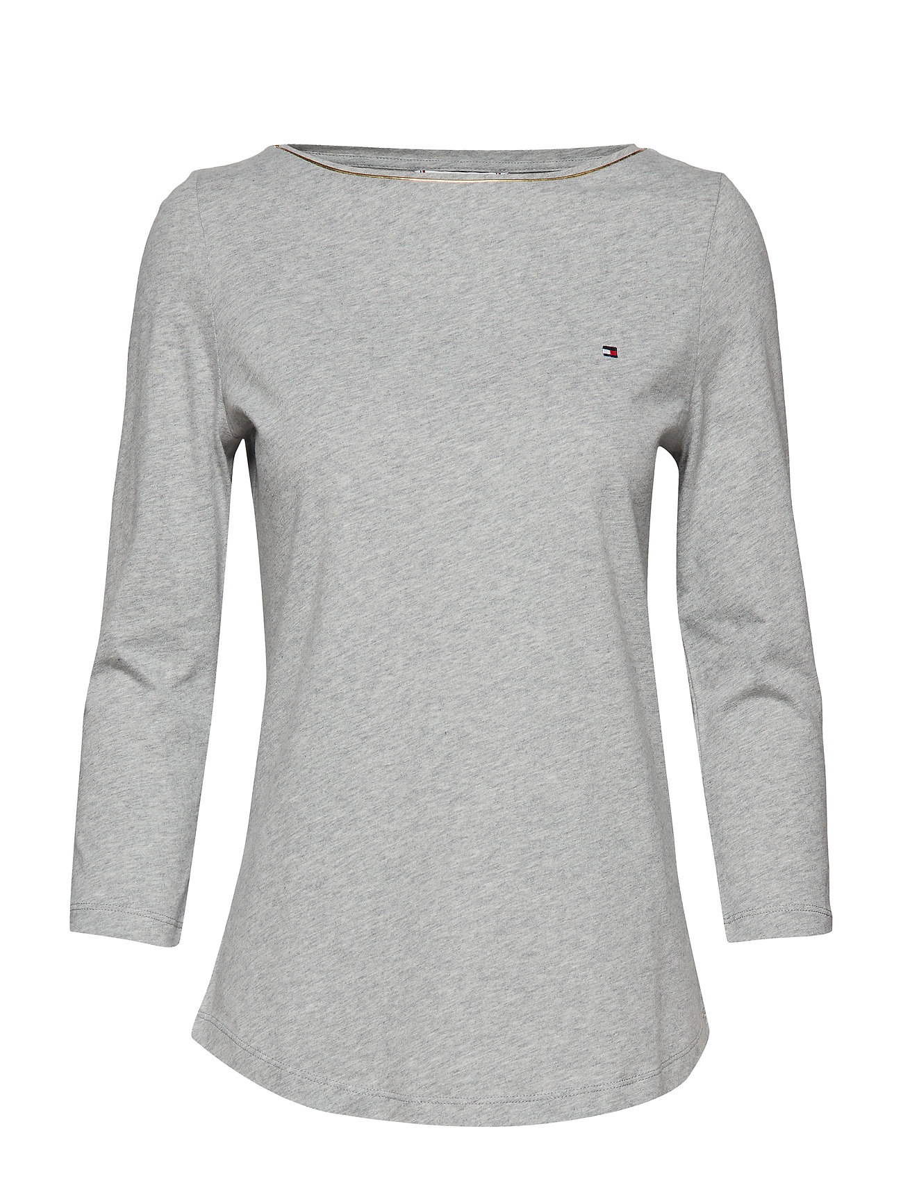 2fe610fe Lucy Boat-nk Top 3/4 (Light Grey Htr) (450 kr) - Tommy Hilfiger ...